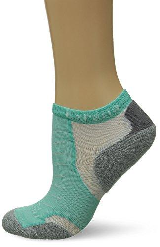 Thorlos XCCU Thin Cushion Running Low Cut Socks, Mint, Small