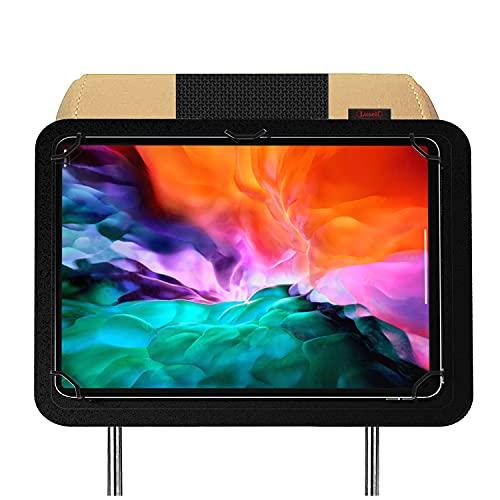 Soporte Tablet Coche reposacabezas Compatible con iPad Pro 12.9' 5ª Generacion 2021 4ª 2020 2018 Nylon irrompible Soporte mas Seguro del Mercado