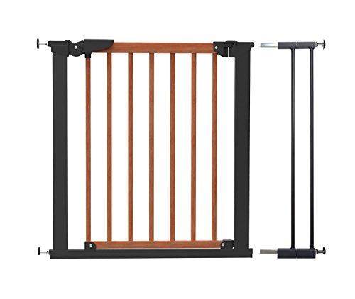 BabyDan brede houten druk poort (83,7 – 91,1 cm)