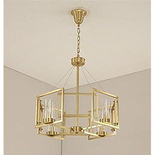 xiaojian& Amerikanischen Metall deckenleuchte post Moderne einfache glas lampenschirm wohnzimmer schlafzimmer kronleuchter , 4 caps