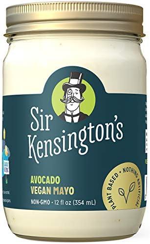 Sir Kensington s Vegan Mayo Oil Keto Diet Certified Gluten Free Certified Vegan Soy Free Shelf product image