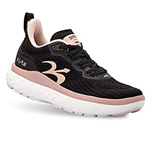 Gravity Defyer Women's G-Defy XLR8 Running Shoes 9 M US - VersoCloud Multi-Density Shock Absorbing Performance Long Distance Running Diabetes Shoes Black, Pink