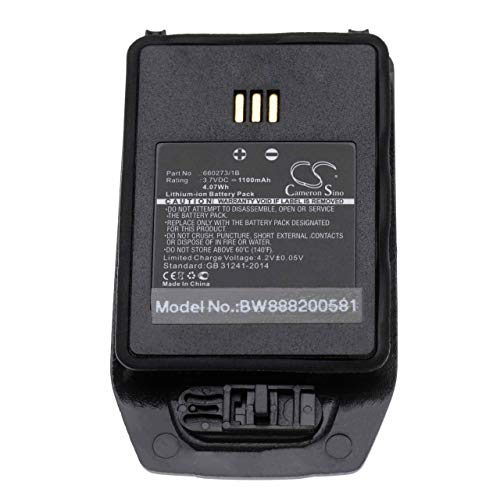 vhbw Akku passend für Innovaphone D81 EX Handy Smartphone Handy (1100mAh, 3.7V, Li-Ion)
