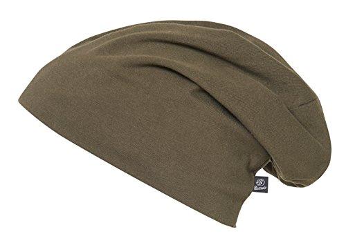 Beanie Jersey 9167-1-XL/XXL Uni Oliv (groß)