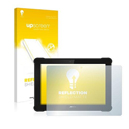upscreen Entspiegelungs-Schutzfolie kompatibel mit Archos 101 Saphir – Anti-Reflex Bildschirmschutz-Folie Matt