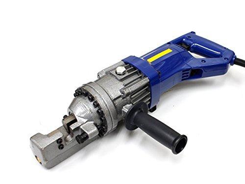 強力電動鉄筋カッター 油圧式 鉄筋切断機 NEWタイプ 日本語取扱説明書 メタルケース付 4mm-16mm 電源ケーブルを傷めない新仕様 60日保証付