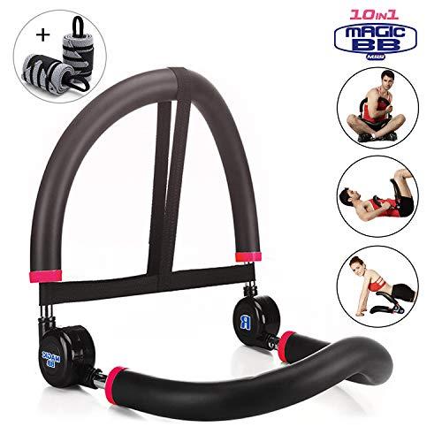 SYOSIN (22-1 Foldable Ab Exercise Machine Gym Trainer Whole Body Exercise Equipment