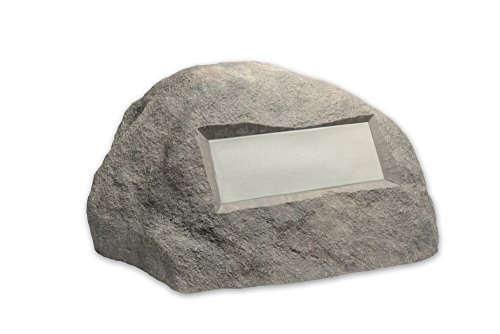 Outdoor Essentials Faux Address Rock, Grey