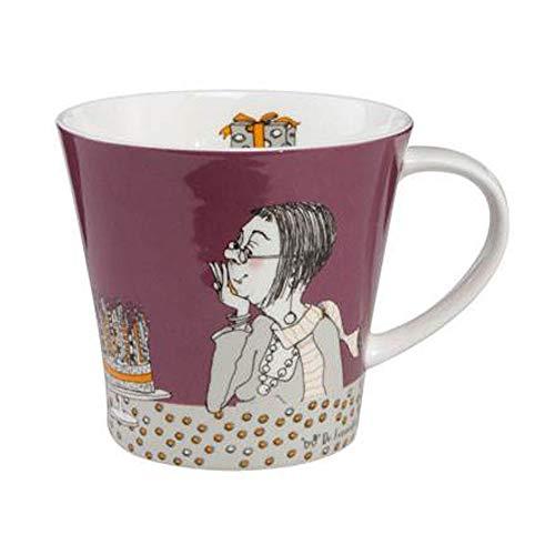 Goebel I Dont get Older - Coffee-/Tea Mug Dr. Barbara Freundlieb Barbara Freundlieb Bunt Fine Bone China 27000421