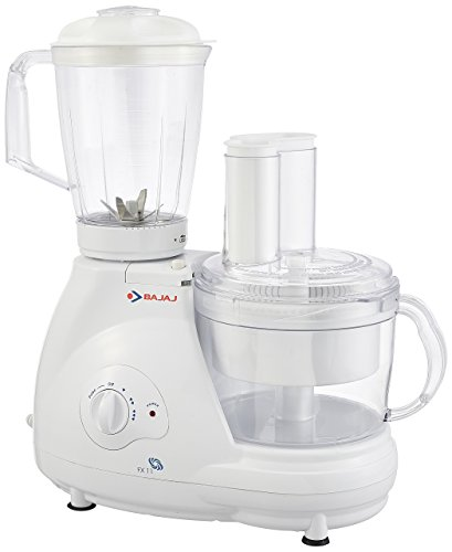 Bajaj Food Factory FX 11 600-Watt Food Processor (White)
