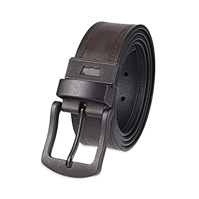 Levi's Men's 1 1/2 in.Bridle Double Prong Buckle Belt,Brown,42