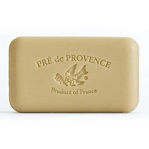 Pre de Provence Artisanal French Soap Bar Enriched with Shea Butter, Verbena, 150 Gram