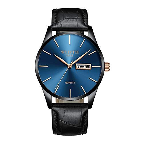 SJXIN Hochwertige WLISTH Mechanische Uhr, 2018 Herrenuhr Uhr Quarzuhr Herrenuhr (Color : 5)