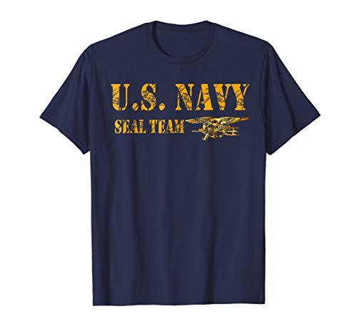 U.S. NAVY SEAL TEAM ORIGINAL LOGO T-SHIRT