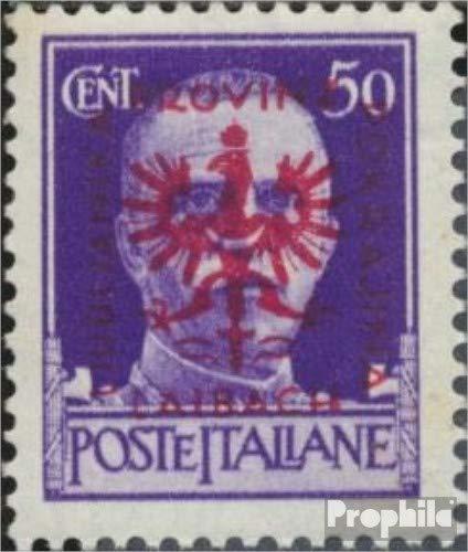 Prophila Collection Laibach (Dt.BES.2.WK.) 8I geprüft, Hakenschnabel (Feld 51) 1944 Aufdruckausgabe (Briefmarken für Sammler)