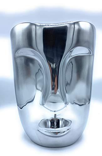 Bob Design verhaalvaas aluminium 30 cm bloemenvaas decoratieve vaas