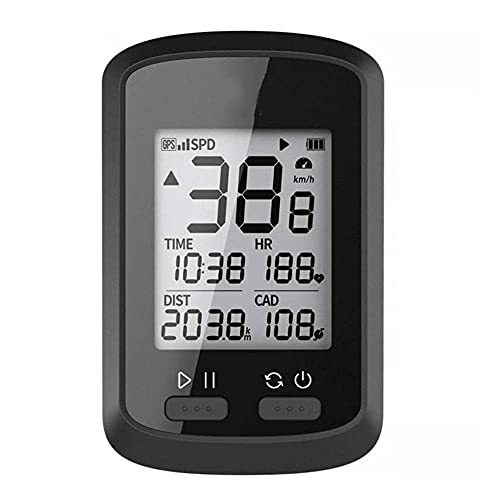 limei Velocímetro de Bicicleta como Accesorios para Bicicletas, con función de Impermeable y rastreador, Disponible para Dispositivos periféricos y Bicicletas de Carretera