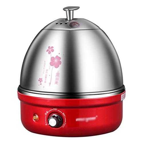 Roestvrijstalen elektrische eierkoker met automatische uitschakeling tot 7 eieren, voor zacht, medium, harde boiled, gepolijst