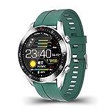 ZUEN IP68 Étanche Montre Intelligente C2 Plein Écran Tactile Ronde Écran De Fréquence Cardiaque Surveillance De La Pression Artérielle Smartwatch pour Les Hommes Femmes,A