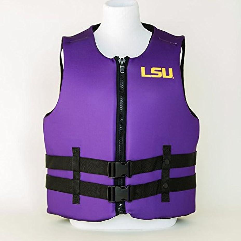 不幸元気エネルギールイジアナ州状態大学LSU Tigers U S Coast Guard Approved Life Vest