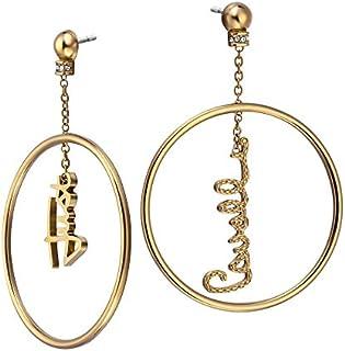 Just Cavalli Stainless Steel Earrings For Women, JCER00310200