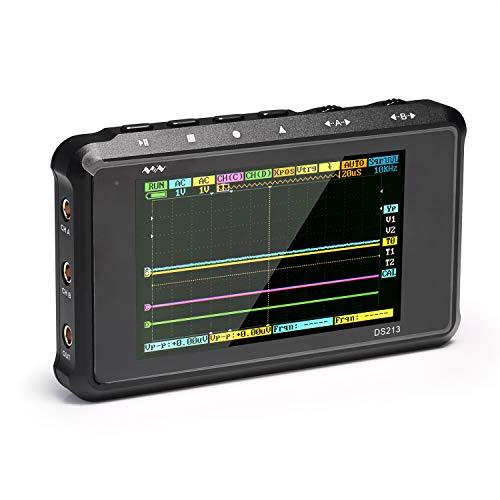 SainSmart Mini DSO213 Tragbares Digital-Speicheroszilloskop im Taschenformat mit 4 Kanälen