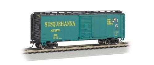 Bachmann Industries Échelle Ho 40 'Boîte de Voiture New York, Susquehanna et Western (Suzy Q)