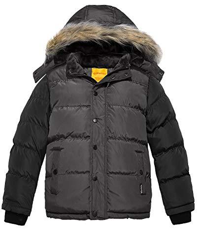 bon comparatif Wantdo Down Jacket for Boys Hooded Quilting Winter Leisure Jacket… un avis de 2021