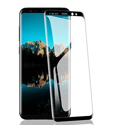 RIIMUHIR Protezioni per Lo Schermo per Samsung Galaxy S9[2 Pezzi], Pellicola Vetro Temperato 9H Durezza, Protettiva in Vetro Temperato per Samsung Galaxy S9Senza Bolle, Trasparente