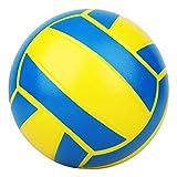 BORPEIN Ballon de Volley-Ball en Mousse sans Pompe, idéal pour Les Enfants ou Les débutants. Jeu et Exercice Soft Kick & Safe 7 '' (classique2)