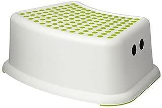 FORSIKTIG 子供用スツール ホワイト/グリーン 40248419 IKEA イケア