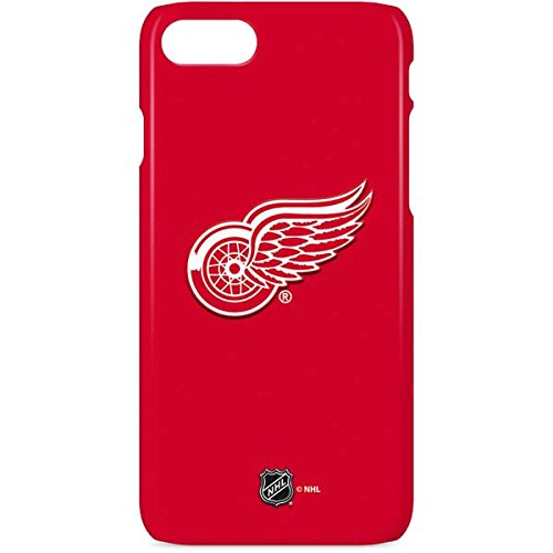 Skinit Lite Phone Case for iPhone 8 - Officially Licensed NHL Detroit Red Wings Solid Background Design
