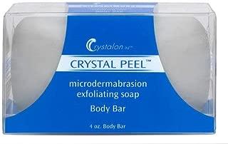 Crystal Peel Microdermabrasion Exfoliating Soap Body Bar (4 oz)