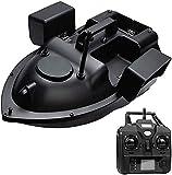 Barco de Cebo buscador de Peces con GPS - Barco de Cebo de Pesca RC Barco con ecosonda Crucero con batería de 12000Mah 3 Compartimentos de Cebo Independientes