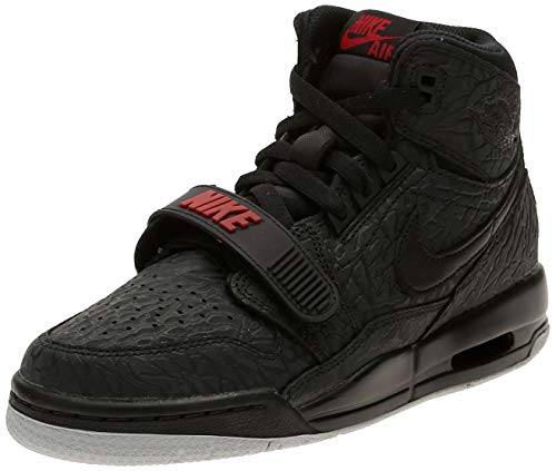Nike Air Jordan Legacy 312 Big Kids' Sho - black/black-varsity red, Größe:5.5Y