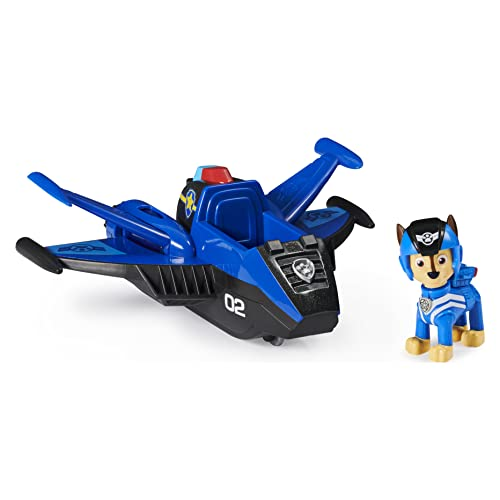Paw Patrol, Jet to The Rescue Chase?s Deluxe Transforming Vehicle with Lights and Sounds
