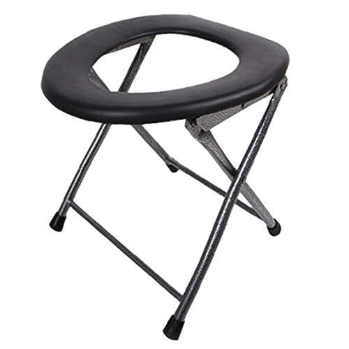 JRXyDfxn Tragbare Falten WC Leichtklapp WC-Sitz für Camping, Wandern, Reisen, Baustellen