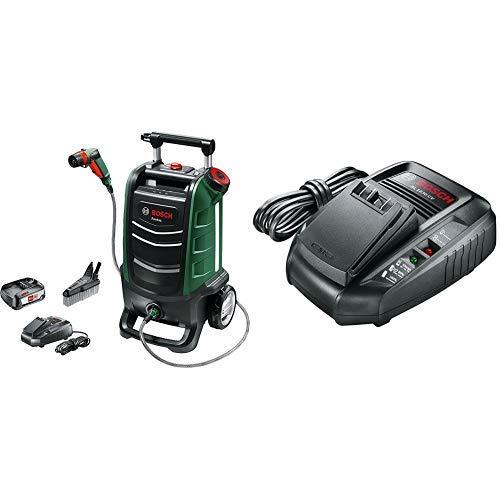 Bosch Fontus - Hidrolimpiadora + Bosch AL 1830 CV - Cargador para baterías