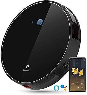 LEFANT Robot Aspirador WiFi Aspirador de Limpieza con App, Succi?n Fuerte 2200 Pa Aspiradora Robot con Alexa y Google, Navegaci?n Inteligente, Silencioso, Auto-Carga, para Pelo de Mascotas M520