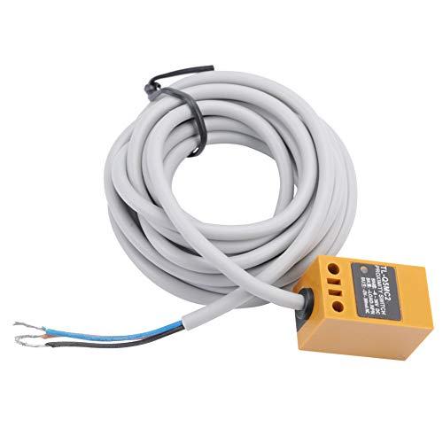 YOPOTIKA Interruptor de Sensor de Proximidad TL- Q5MC2 NPN Sensor Inductivo 3 Cables Normalmente Cerca de Distancia 5Mm