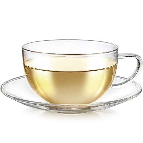 Teabloom Kyoto Teacup and Saucer Sets 8 OZ / 240 ML (Set of 1)