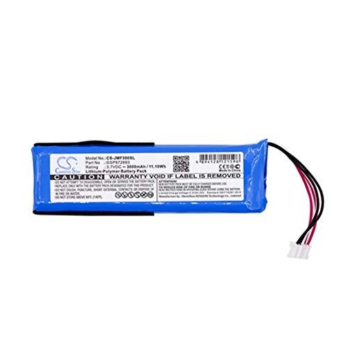 CENYAFAN Cameron Sino 3000mAh Batería for GSP872693 JBL Flip 3, JBL Flip 3 Gary, JBLFLIP3GRAY Herramienta de Montaje de Piezas RC (Color : Blue)