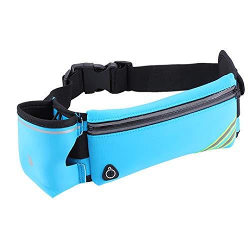 LIUQIAN PaquetedelaCintura Bolsillos para Correr Hombres y Mujeres Caldera Individual Bolsillos Deportivos Cinturones multifuncionales Bolsillos para teléfonos móviles