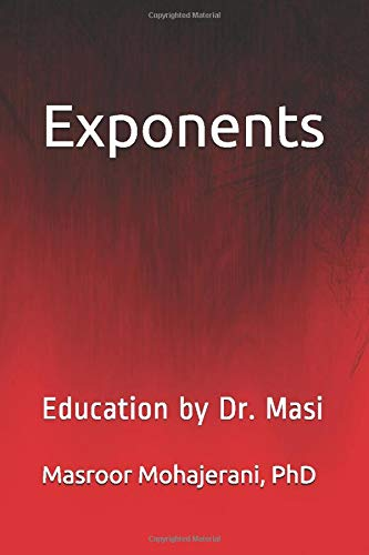 Exponents: Education by Dr. Masi
