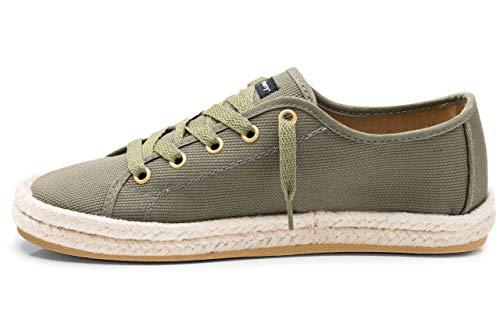 CHIMMY CHURRY - Zapatillas para mujer, verde (Militar), 41 EU