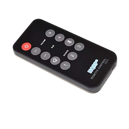 HQRP Remote Control Compatible with Polk Audio 5000 5500 6500 SB6500BT SB5500 SB5000IHT SB5000IHT RE15031 Instant Home Theater Soundbar Speaker System Controller