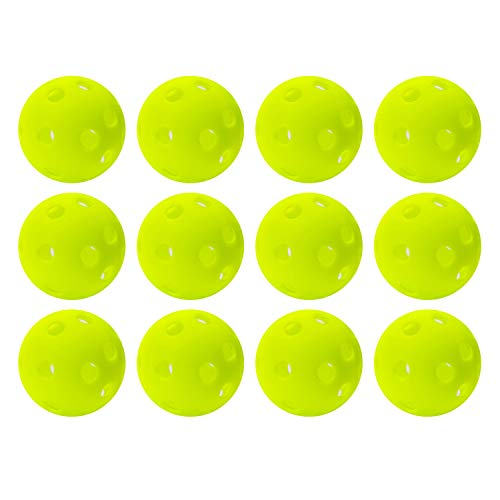 Franklin Sports Golf Balls, Official Size, Indoor or Outdoor Training, 12 Pack