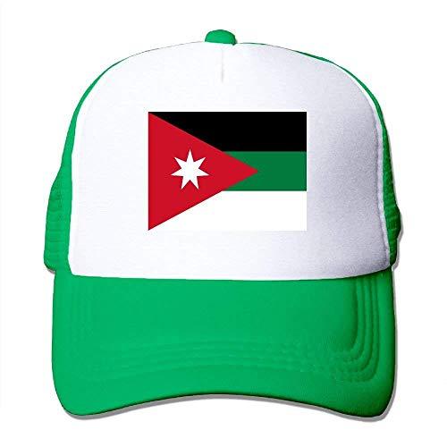 lymknumb Gorras de béisbol Bandera Siria Gorras de Malla Sombrero de Camionero Sombrero Ajustable, Unisex, Talla única