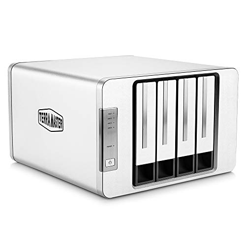 TerraMaster D4-300 USB 3.1(Gen1) Type-C Storage External Hard Drive Enclosure Hot Swappable (Diskless)
