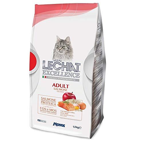 LeChat Excellence Adult al Salmone crocchette Gatto kg. 1,5